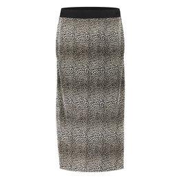 Geisha Skirt Plisse Leopard