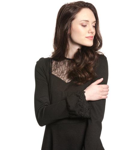 Vive Maria Black Princess Dress Black