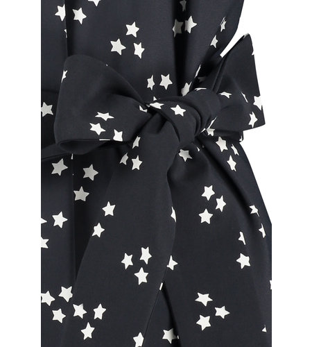 Studio Anneloes Sirius Star Dress  Black Ivory
