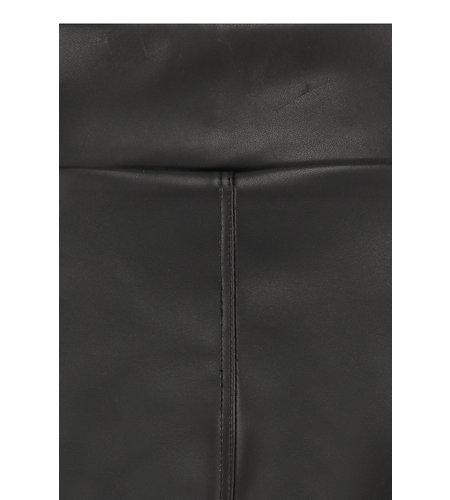 Studio Anneloes Hilde Leather Culotte Black