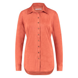 Studio Anneloes Poppy Suede Blouse