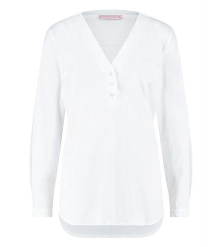Studio Anneloes Evi Basic Blouse White
