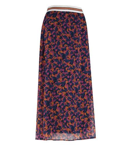 Studio Anneloes Lorna Crepe Skirt Dark Blue Classic Blue