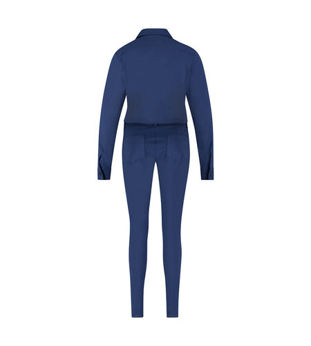 Studio Anneloes Angelique Longsleeve Jumpsuit Classic Blue
