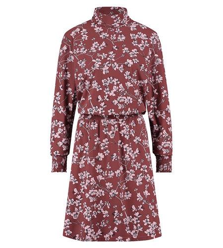 Studio Anneloes Ruby Flower Dress Wine Red Dark Blue