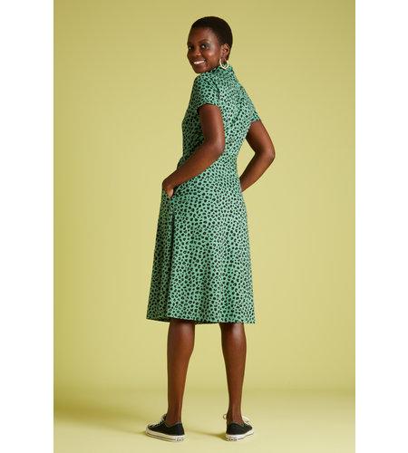 King Louie Olive Dress Bobcat Neptune Green