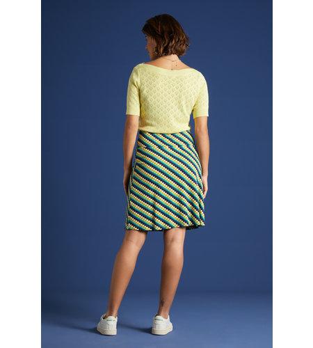 King Louie Border Skirt Daze Eden Green