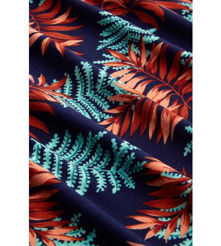King Louie Lot Maxi Dress Palo Verde Peacoat Blue