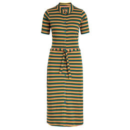 King Louie Rose Slim Fit Dress Daydream Stripe