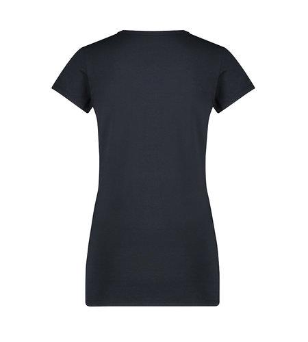 Jane Lushka T Shirt V Neck Easy Wear Blue