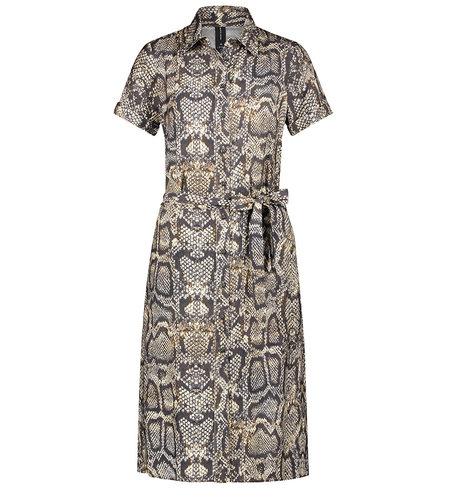 Jane Lushka Dress Morgan Brown Snake