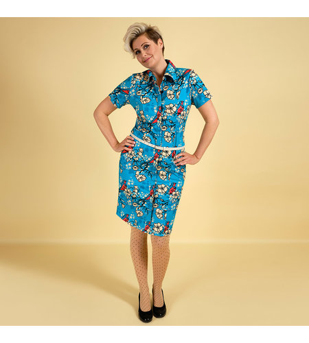 Margot Dress Flirty Birdy 1116