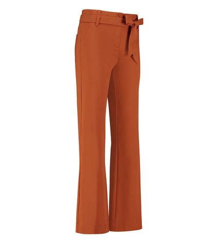 Studio Anneloes Renske Bonded Trousers Cinnamon