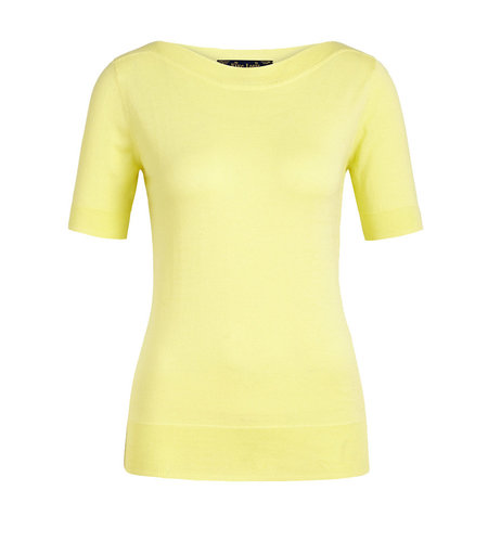 King Louie Audrey Top Organic Cottonclub Yellow Pear