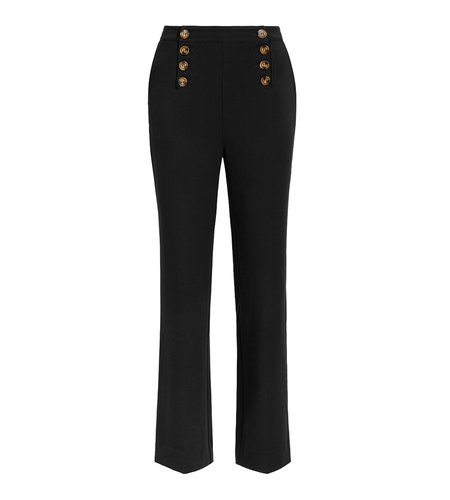 King Louie Lara Sailor Pants Broadway Black
