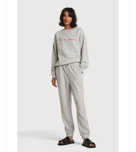 Alix The Label Knitted Alix The Label Sweater Soft Grey Melange