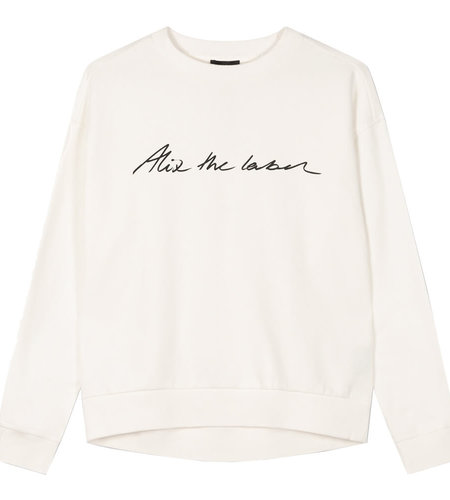 Alix The Label Knitted Alix The Label Sweater Soft White