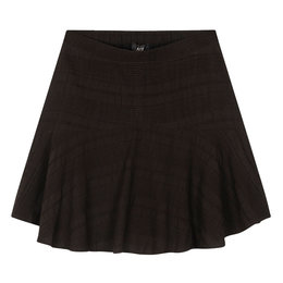 Alix The Label Woven Seer Sucker Stripe Skirt