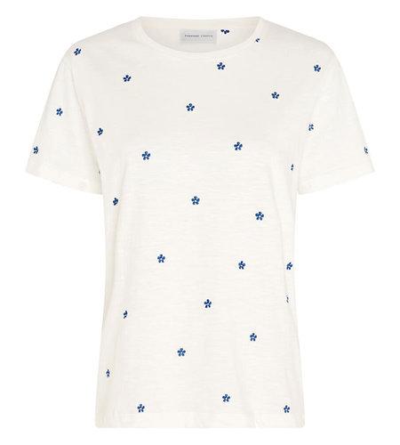 Fabienne Chapot Phil Pansy T Shirt Cream White