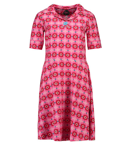 Tante Betsy Dress Babs Retro Daisy Pink