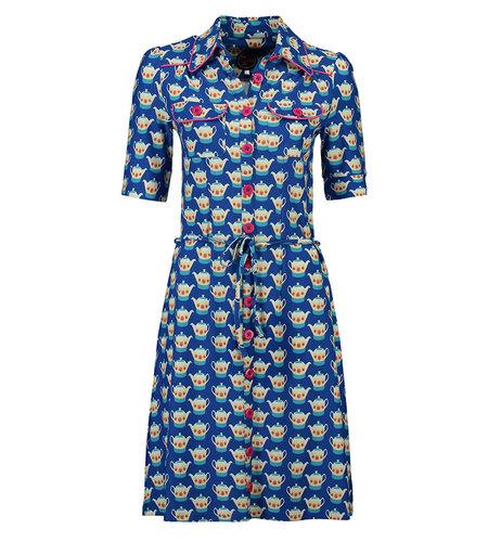 Tante Betsy Dress Betsy Teapot Blue