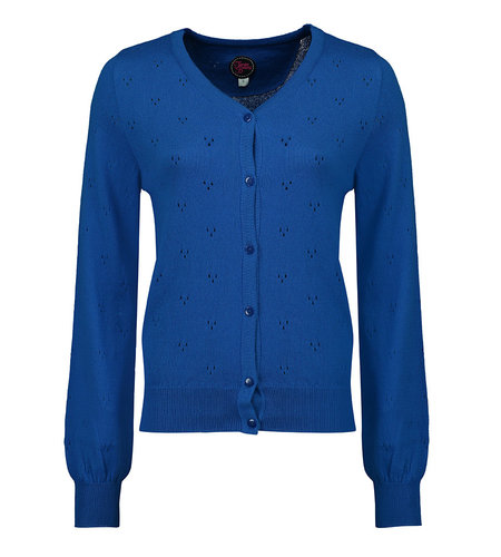 Tante Betsy Cardi Sissie Summer Blue