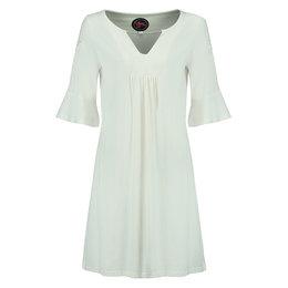 Tante Betsy Tunic Dress White Slub Branch