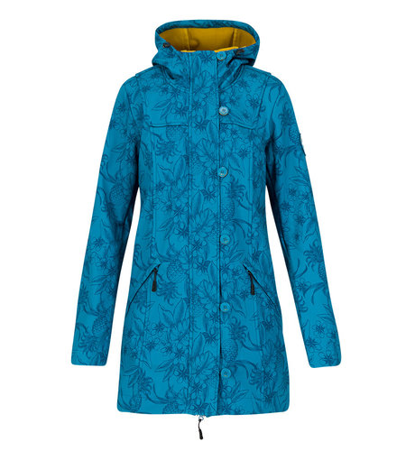 Blutsgeschwister Wild Weather Long Anorak Tropical Shades
