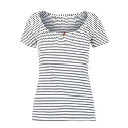 Blutsgeschwister Logo Stripe Heart T Shirt