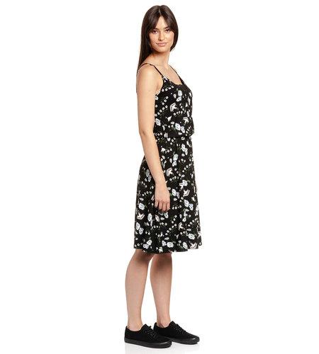 Vive Maria Paradise Summer Dress Black Allover