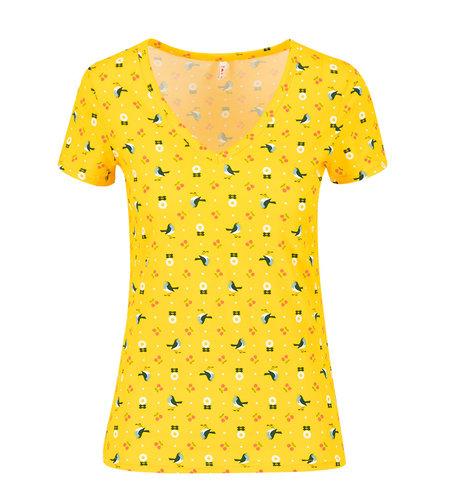 Blutsgeschwister Sunshine Camp T Shirt Cherry Picknick