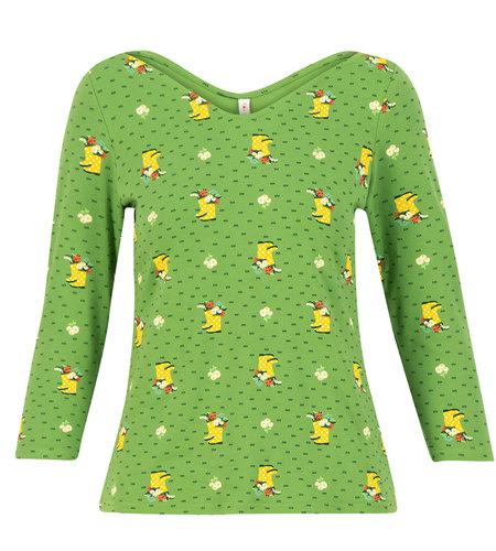 Blutsgeschwister Happy Swallowneck Shirt Yellow Wellys