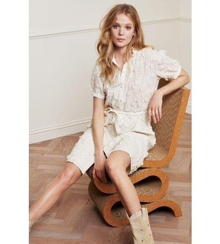Fabienne Chapot Girlfriend Dress Cream White