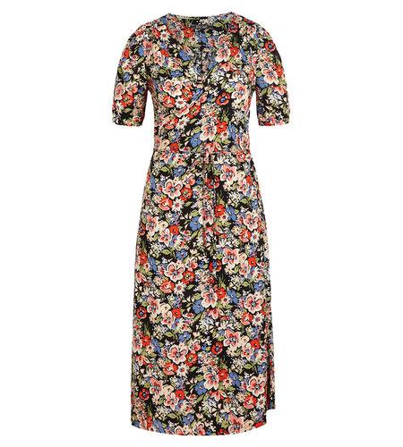 King Louie Wrap Dress Dolores Black