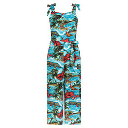 King Louie Chrissie Jumpsuit Great White