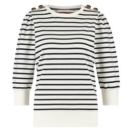Studio Anneloes Maura Stripe Sweater