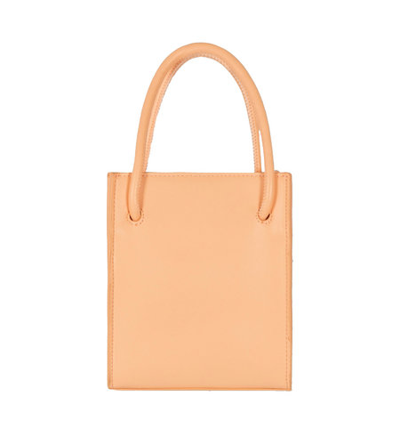 Alix The Label Small Faux Leather Alix Bag Light Salmon