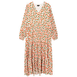 Alix The Label Woven Fresh Flower Maxi Dress