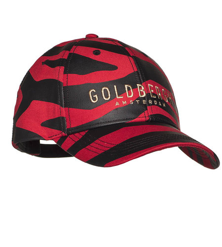 Goldbergh Kim Baseball Cap Tiger Red