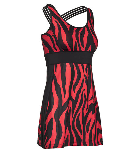 Goldbergh Tinda Dress Tiger Red