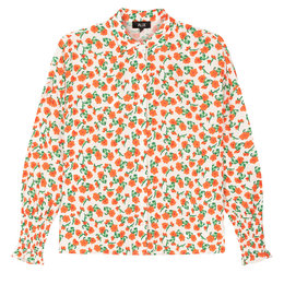 Alix The Label Woven Fresh Flower Blouse