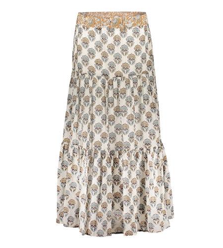 Geisha Skirt 16075-20 Off White Sand Combi
