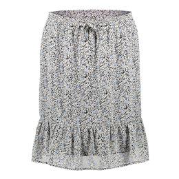 Geisha Skirt All Over Print Little Flowers Ruffle 16060-14