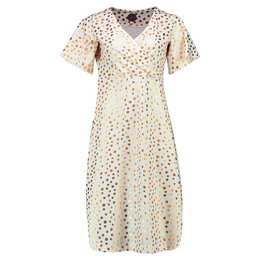 Tante Betsy Dress Havannah Long Gold Dot