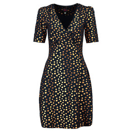 Tante Betsy Dress Auntie Gold Dot