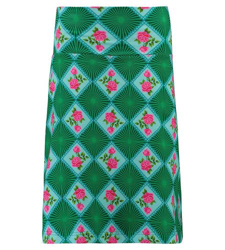 Tante Betsy Skirt Doily N Rose Green
