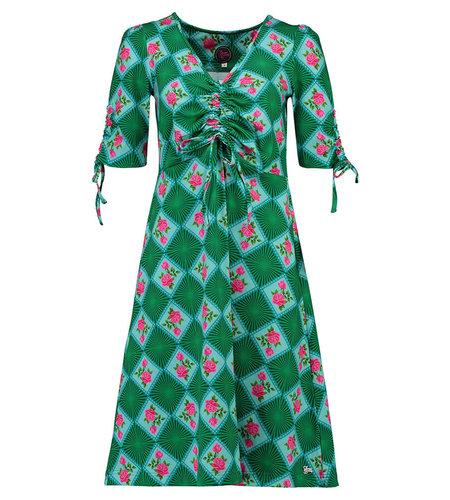 Tante Betsy Dress Stralsund Doily N Rose Green
