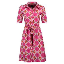 Tante Betsy Button Down Dress Doily N Rose