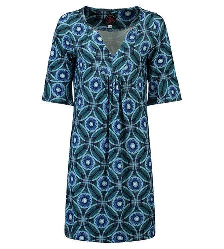 Tante Betsy Tunic Dress Spiro Blue