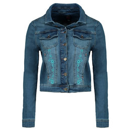 Tante Betsy Denim Jacket Butterfly